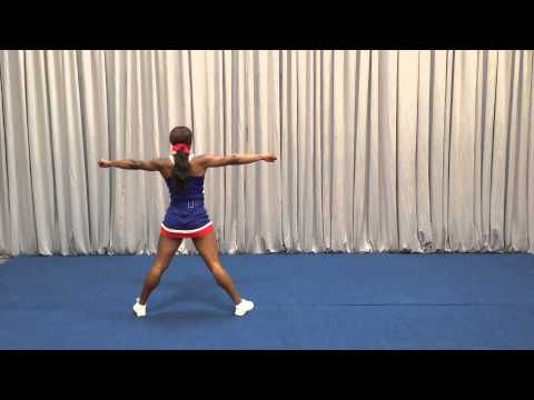 o 2015-2016 West Des Moines Valley High School Cheerleading Tryout -Dance Front View - YouTube