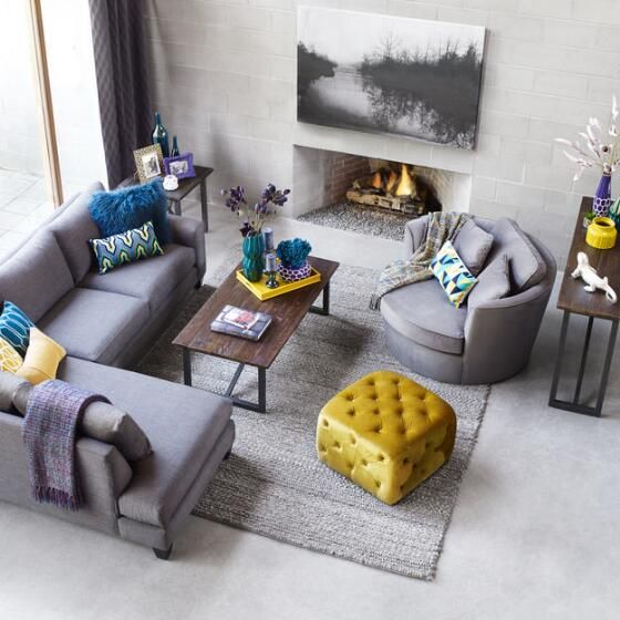 Oriole Chair - Grey
