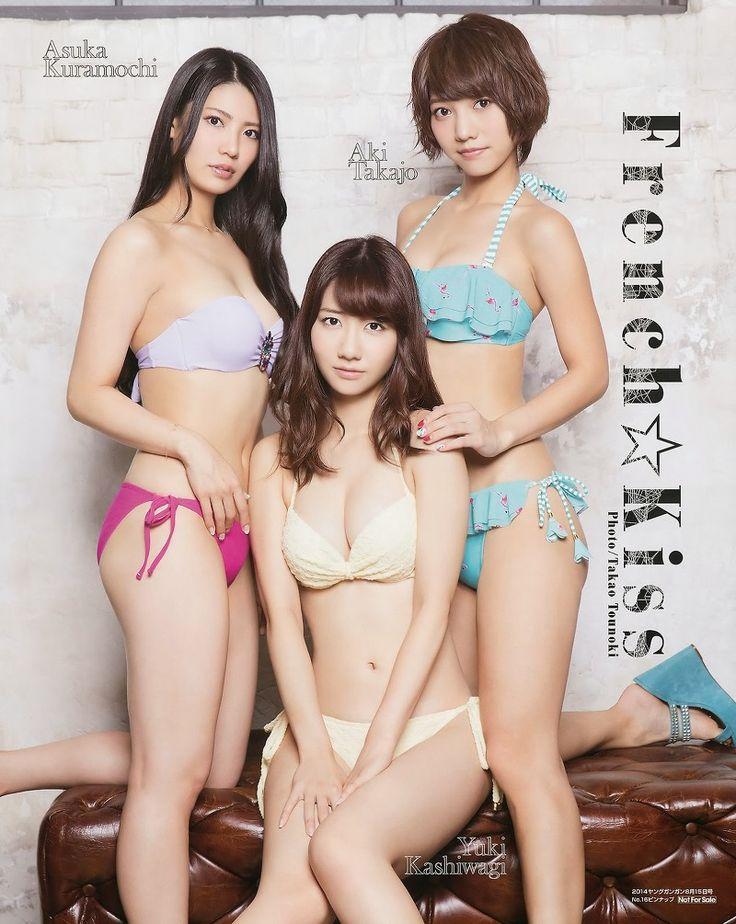 JIPX(Japan Idol Paradise X) :: French Kiss Journey on Young Gangan Magazine