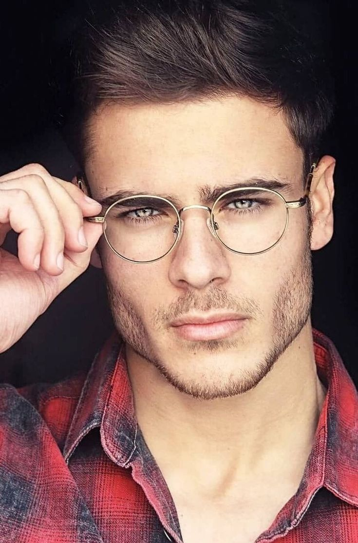 Nude men with glasses 11
