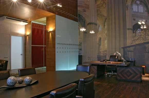 Офис компании 250 m2. Дизайн интерьера. Architect Irina Richter. INSIDE-STUDIO Prague