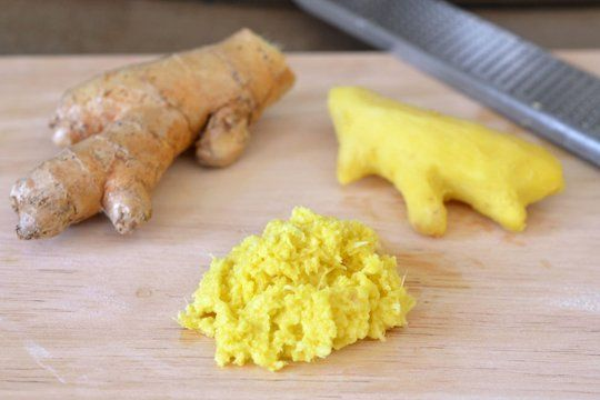 I bought tons of fresh ginger and turmeric today.  I made a delicious healing tea out of freshly grated ginger, turmeric, and Manuka honey.  I decided to grate and freeze enough for smoothies and tea to last me through the week.  Got the idea from this website.