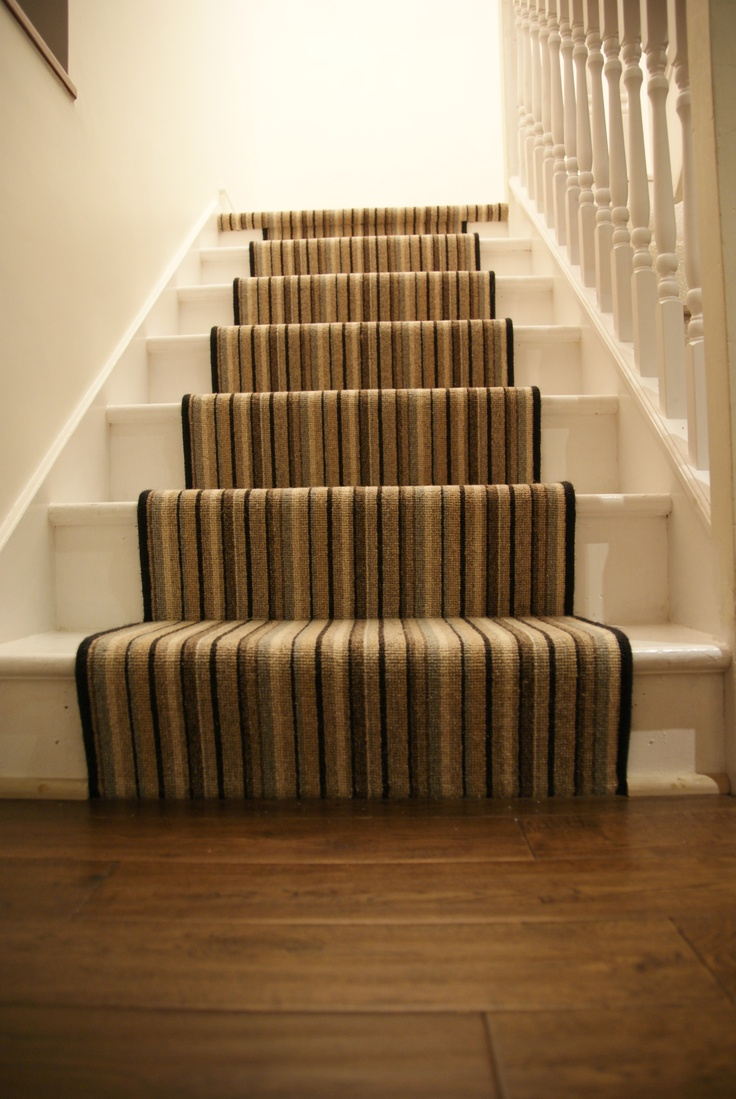 Striped Stair Runner Hallway Ideas Pinterest Runners
