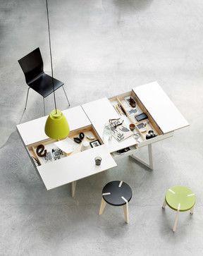 spisebord med smart opbevaring