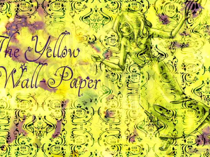 17 best ideas about the yellow wallpaper on pinterest