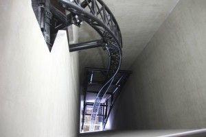 Na, wer würde sich trauen? Mit KÄRNAN 67 Meter senkrecht in die Tiefe - innerhalb vom gewaltigen Turm!