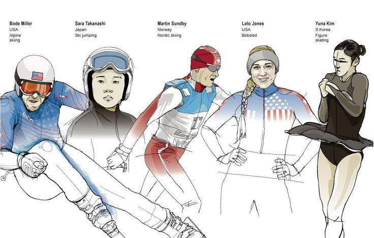 Many Sochi Olympic athletes work to overcome obstacles to excel in their sport. Related article: http://on.wsj.com/1fUcEXk