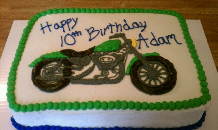 Birthday Cake Ideas Motorcycle : 17 Best images about Motorcycle Cakes on Pinterest ...