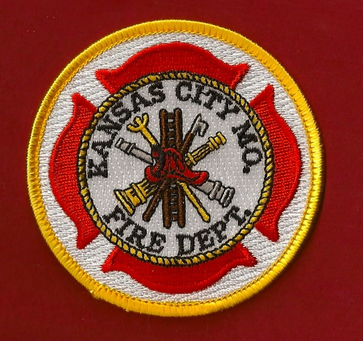 Kansas City Missouri Fire Department patch while under the direction of Smokey Dyer, chief.