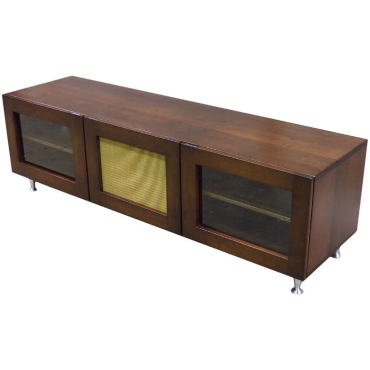 mid century modern tv stand 2 via etsy furniture interior design pinterest tv. Black Bedroom Furniture Sets. Home Design Ideas