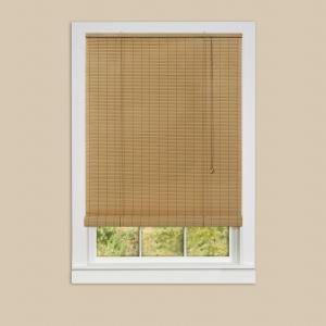 Achim Eclipse Woodstone Roll-Up 0.25 in. Vinyl Blind - 36 in. W x 72 in. L OV3672WD06 at The Home Depot - Mobile