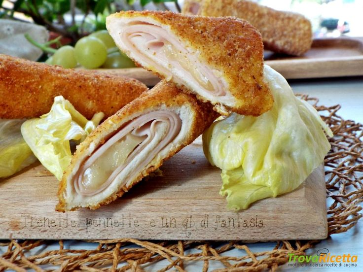 Rotolini di pancarrè con tacchino e asiago #ricette #food #recipes