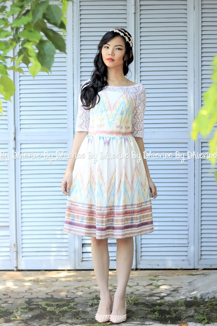 ikat dress | Pendapa Ikat Petag Dress | DhieVine | Redefine You