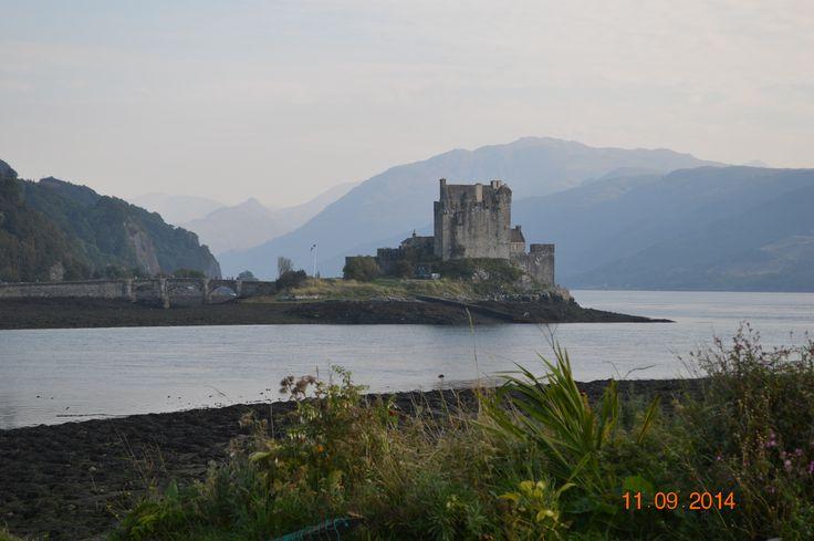Castillo de Eilean Donan, cerca de la Isla de Skye