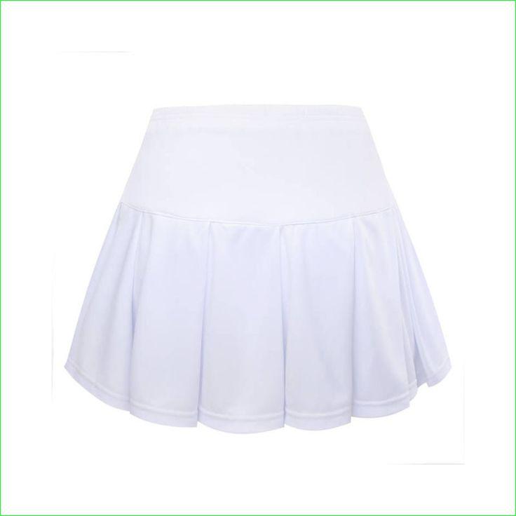 Girl Tennis Badminton Skirt Women Sports Bottom With Shorts for Children Adult