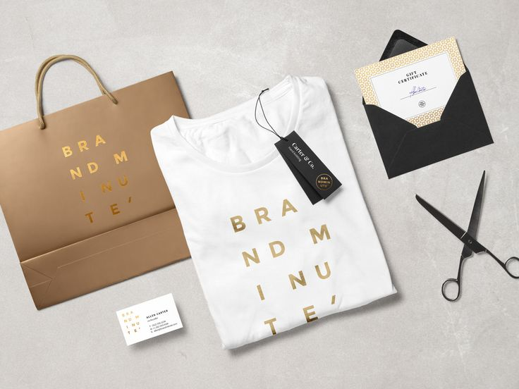 Brandminute Mockups by GraphicBurger on @creativemarket