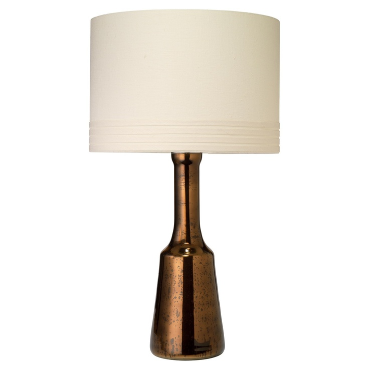 Traditional Table Lamps For Living Room Part - 48: Jamie Young Medium Perfume Bottle Table Lamp Chocolate $184