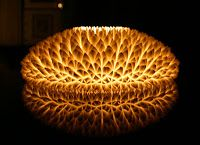 Tridimensio 3D Printing - Print out of the box!: Design Lamp - 3D geprint wat een effect