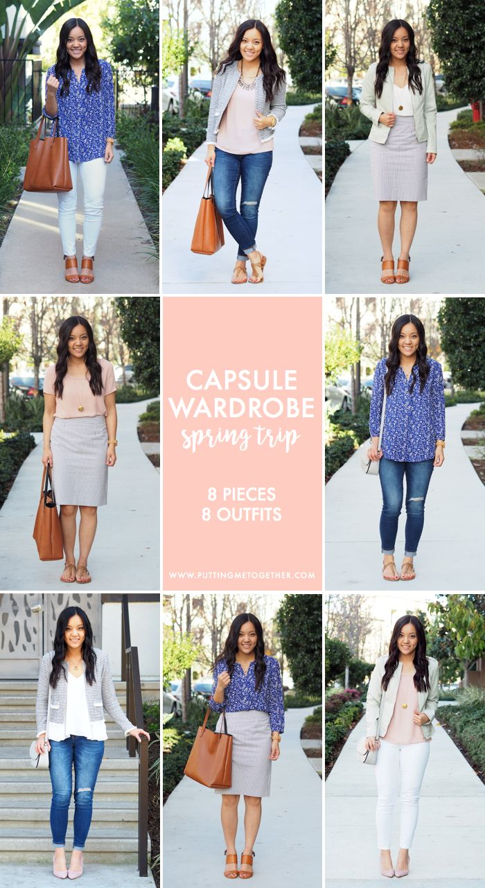 Spring Mini Capsule: 8 Pieces to 8 Outfits + $250 Giveaway