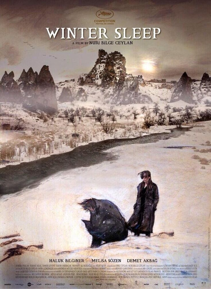 The winner of La Palme d'or! Winter Sleep de Nuri Bilge Ceylan - Festival de #Cannes2014 (International Film Festival) - | via #BornToBeSocial  J'ai beaucoup ce film même s'il dure 3 h 16 en VO flo