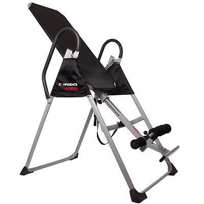 Inversion Tables 112954: Confidence Fitness Pro Inversion Table - Chiropractic Exercise Back Pain Relief -> BUY IT NOW ONLY: $89.99 on eBay!