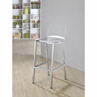 Pure Decor Acrylic Bar Stool - Click to enlarge