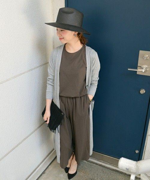 《予約》ジャージーガウチョオールインワン◆(つなぎ/オールインワン)|SHIPS for women casual(シップスフォーウィメンカジュアル)のファッション通販 - ZOZOTOWN