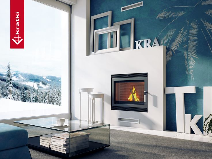 Fireplace BLANKA 670/570 #kratkipl #kratki #fireplace #insert #interior #livingroom