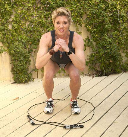 Jackie Warner's Jump Rope Workout | POPSUGAR Fitness
