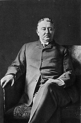 """""""Cecil John Rhodes PC, DCL (5 July 1853 – 26 March 1902) was an English-born South African businessman, mining magnate, and politician. He was the founder of the diamond company De Beers, which today markets 40% of the world's rough diamonds and at one time marketed 90%."""" Read more: http://en.wikipedia.org/wiki/Cecil_Rhodes"""