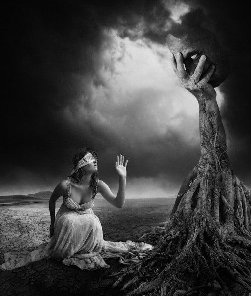 Is There Anybody Out There? - Limited edition on Brushed Aluminium (c) Erik Brede