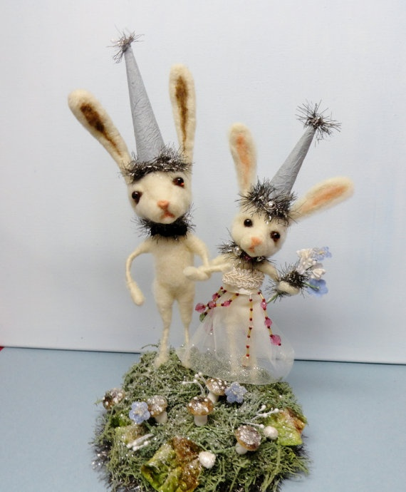 fairytale wedding cake toppers 1000 images about spun cotton pipe cleaners dresden on 3970
