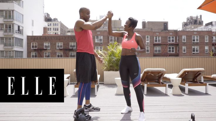 The Ultimate 3-Minute Thigh Workout: Celebrity Trainer Ngo Okafor shows us how to get toned thighs in a flash.