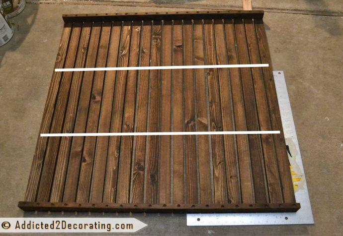 Diy Removable Cedar Shower Floor Mat Our Bathroom