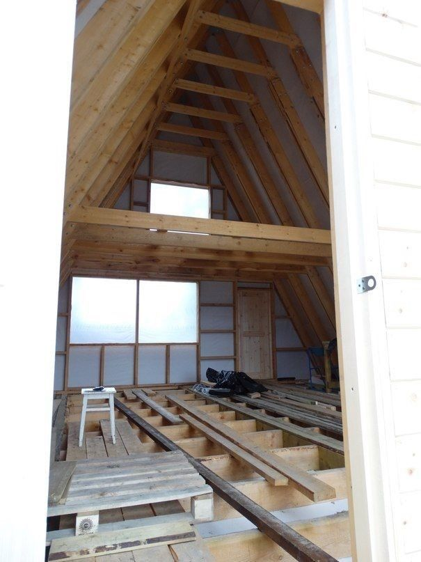 building plans A-frame Tiny House PDF To Email