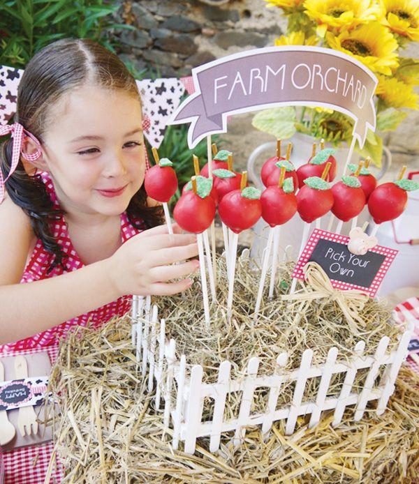 Plantação de  Maçãs da Fazenda