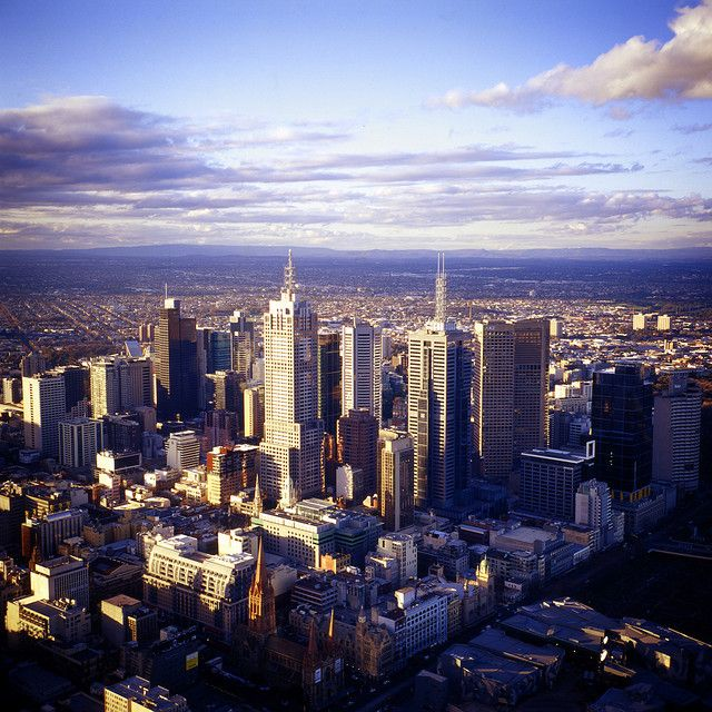 melbourne city skyview