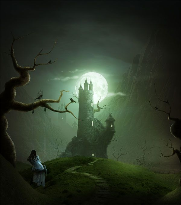 Best Dreamscape Images On Pinterest Landscapes Scenery And - Artist creates amazing fantasy dreamscapes into her small studio without using photoshop
