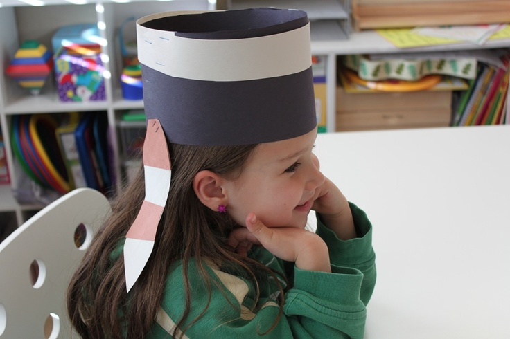 Davy Crockett Hat; preK; visual art
