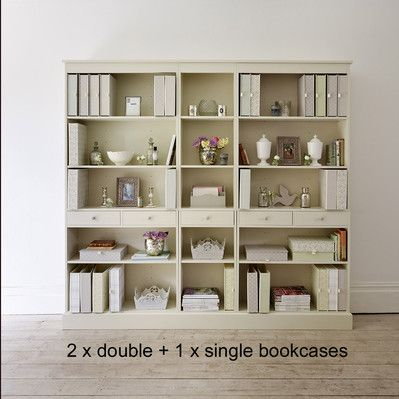 1. New Hampshire modular bookcase - The Dormy House
