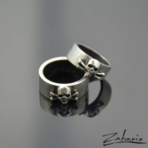 Excited to share the latest addition to my #etsy shop: Rings Skull Silver Set http://etsy.me/2DdrUBe #jewellery #ring #unisexadults #silver #zahario #handmade #silver925 #skull #skulls