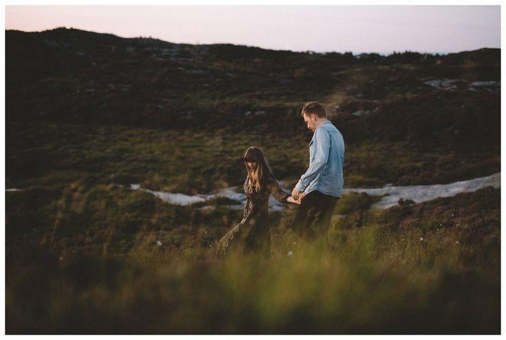 Forlovelsesbilder, parfotografering, bergen