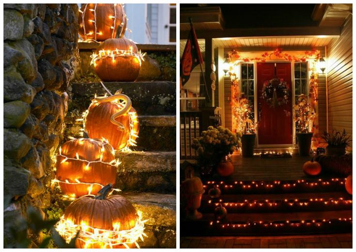 42 best images about halloween halloween halloween on for Decoration porte d entree halloween