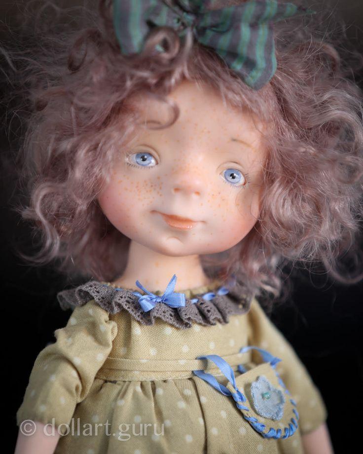 Маруся. Авторская кукла Натальи Мурашовой   Doll Art Guru