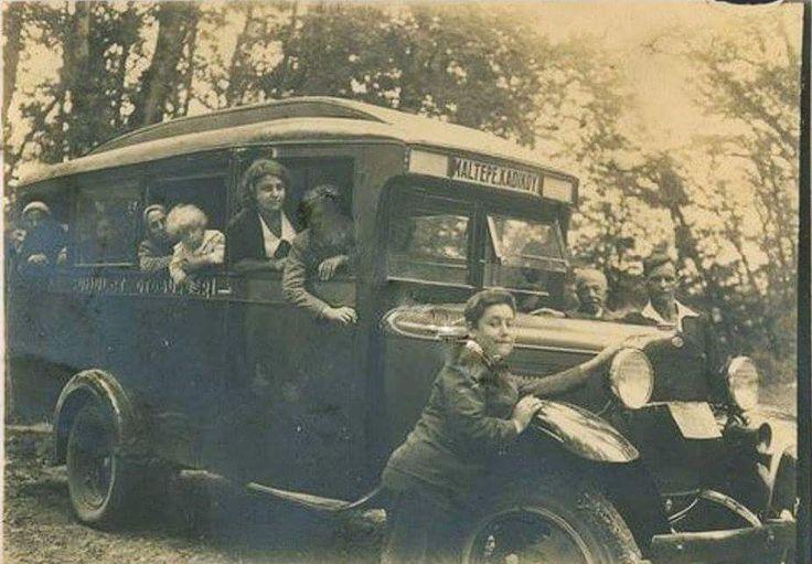 Maltepe - Kadıköy otobüsü (1930'lu yıllar)