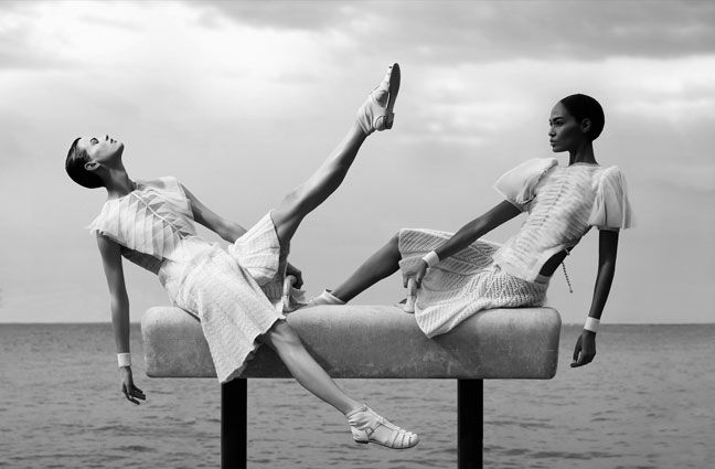 Chanel Athletics Spring Summer 2012 Ad Campaign