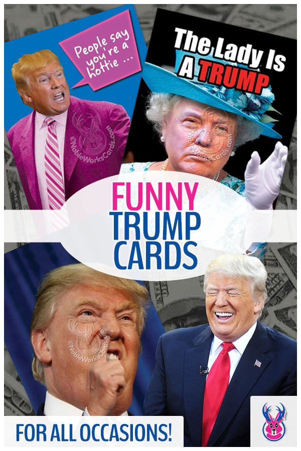 Make America GREET Again! Donald Trump, has a lot to say. We also think he is perfect for any funny occasion card, birthday card, Christmas, or just a greeting sure to produce laughs for all. Humor for all!