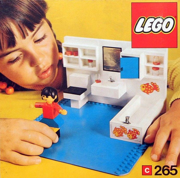 Jaren '70 lego. De badkamer