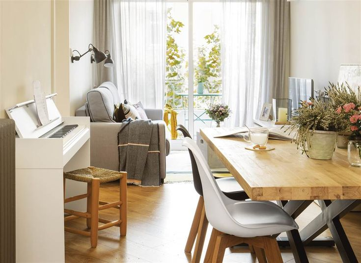 17 mejores ideas sobre comedores grises en pinterest for Cortinas en comedor