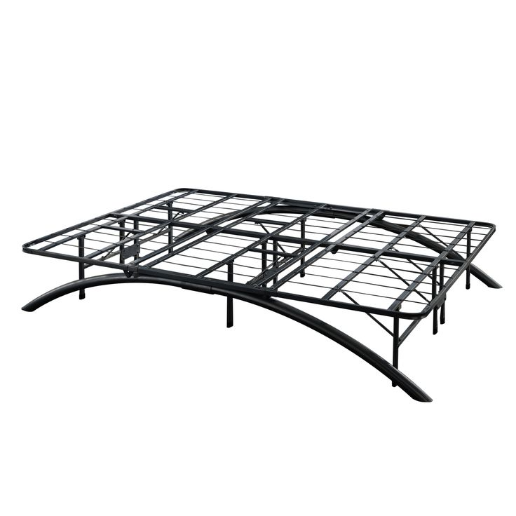sleep sync arch flex black platform bed frame arch flex c king 14 black platform